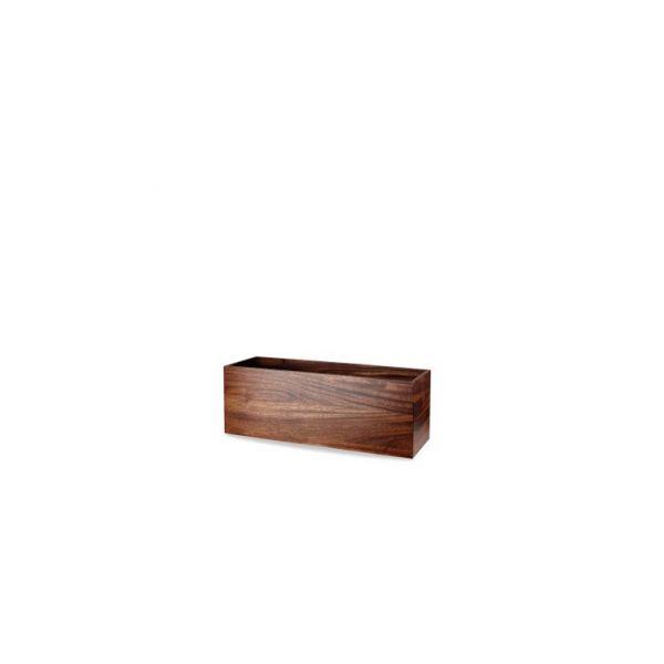 Buffet-Box eckig 38 x12 x10cm ACACIA WOOD