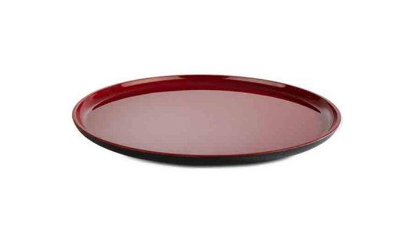 Teller ASIA PLUS D:28cm schwarz, rot