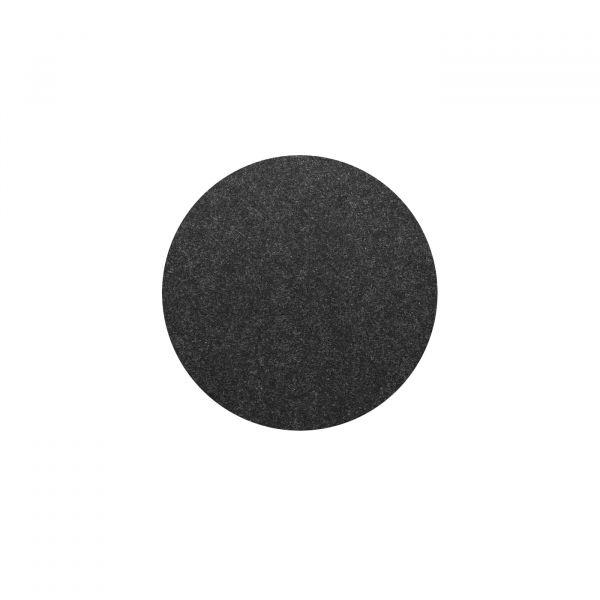 Untersetzer rund 10cm Fiberixx schwarz