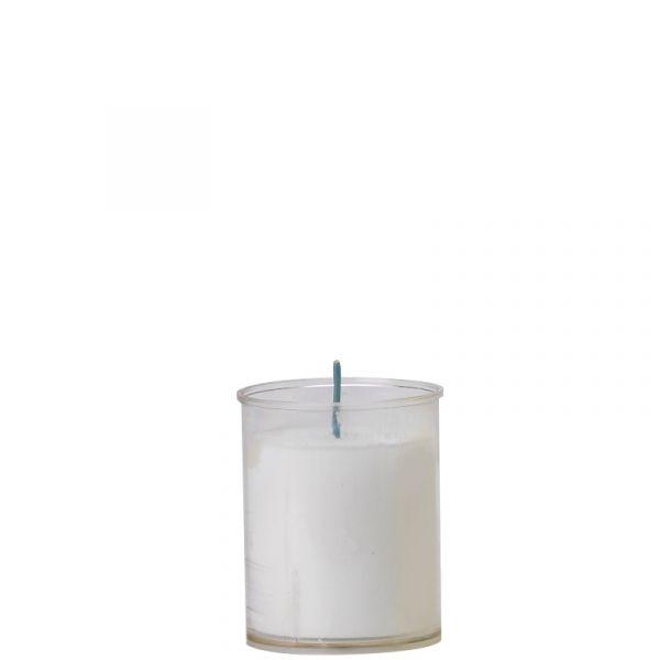 60 Stk. Kerzeneinsatz klar