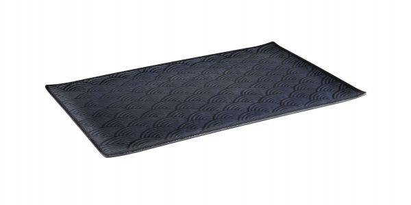GN 1/1 Tablett DARK WAVE 53 x 32,5 cm, H: 2 cm