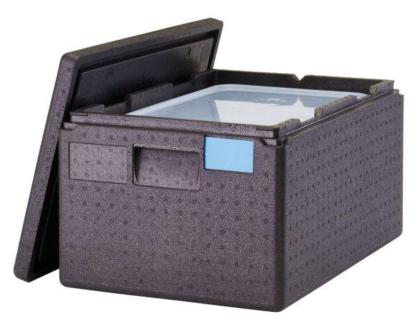 Wärmebox Toplader für GN 1/1-200 mm schwarz 400 x 600 x 316 mm