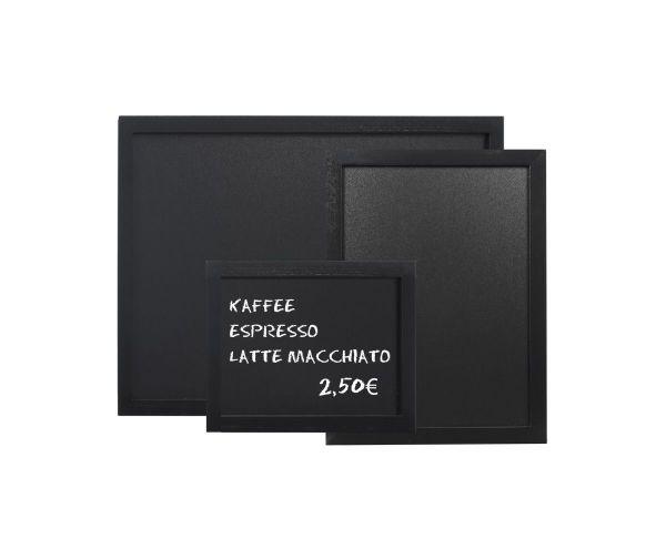 Wandtafel L: 80cm B: 60cm schwarz