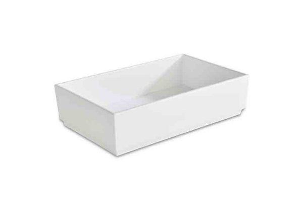 Bento Box ASIA PLUS 25x15,5cm H:6,5cm weiß
