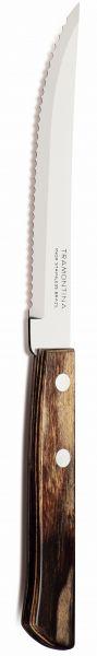 Steakmesser 21,5cm braun