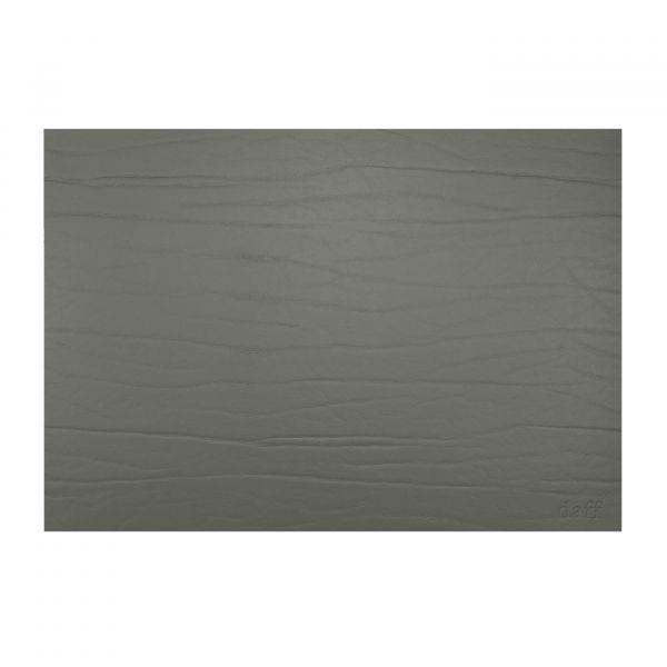 Tischset eckig 31x42cm Leatherixx DUMBO graphit