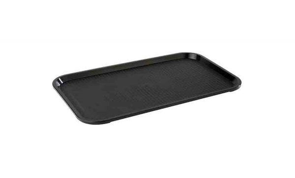 Tablett GN 1/1 FAST FOOD 53x32,5cm H:2cm schwarz
