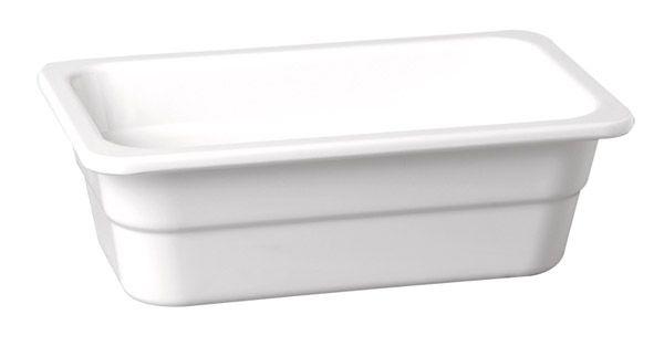 GN-Schale HIGH LINE 1/4-100 weiß Melamin
