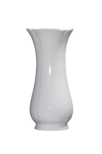 Vase 21cm NELE weiß