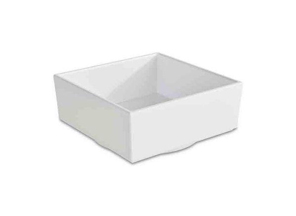 Bento Box ASIA PLUS 15,5x15,5cm H:6,5cm weiß