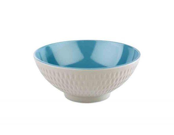 Schale ASIA PLUS D:16cm H:7cm blau, grau