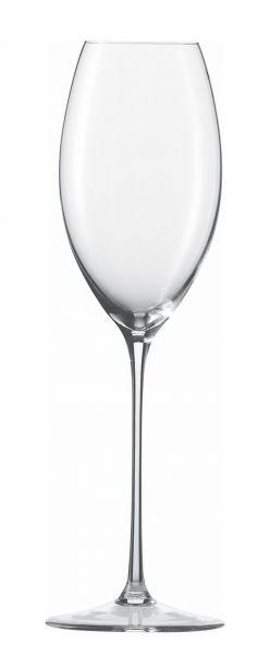 Champagnerkelch 305ml mit Moussierpunkt ENOTECA 77