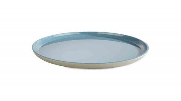 Teller ASIA PLUS D:24cm blau, grau