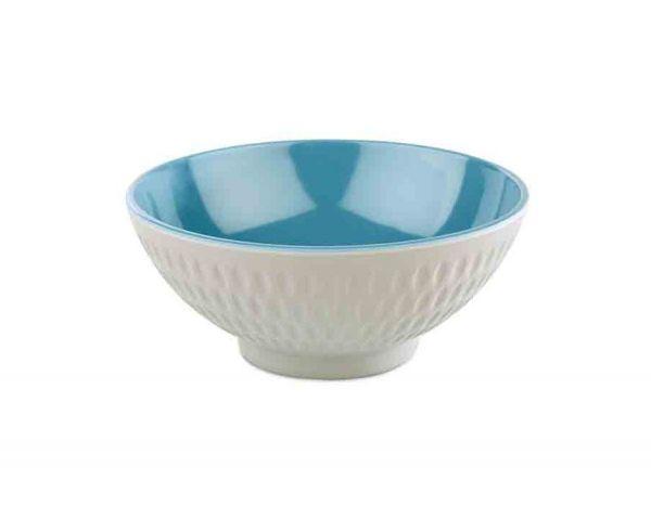 Schale ASIA PLUS D:13cm H:5,5cm blau, grau