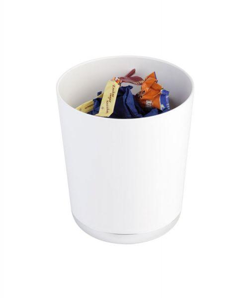 Tischreste / Besteckbehälter Höhe 15cm Weiß