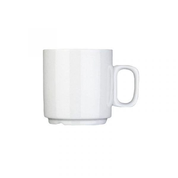 Kaffeebecher 0,25l stapelbar SVEN weiß
