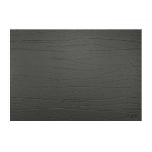 Tischset eckig 31x42cm Leatherixx DUMBO schwarz