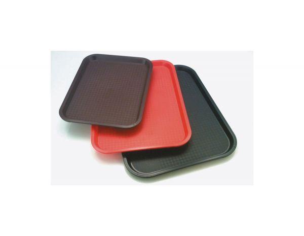 Tablett FAST FOOD 45x35,5cm H:2cm braun