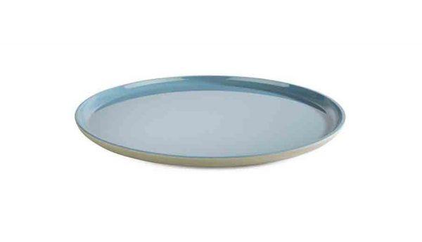 Teller ASIA PLUS D:28cm blau, grau