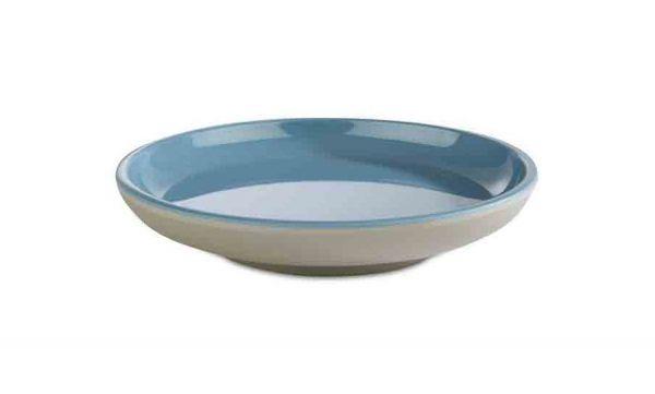 Teller ASIA PLUS D:11cm blau, grau