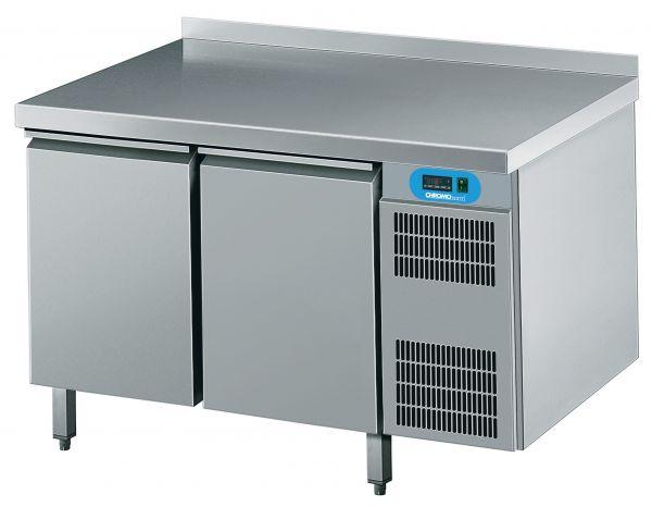 Umluft-Kühltisch 2 Türen steckerfertig 230V B 1250 T 700 H 850